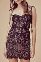 For Love & Lemons Tati Lace-Corset Dress