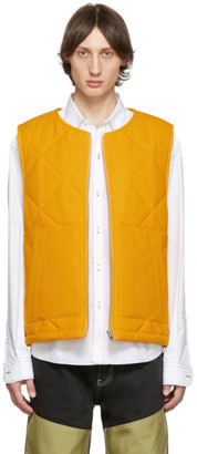 Jacquemus Orange Le Gilet Romarin Vest