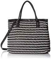 MG Collection Lisbet Oversize Beach Handbag