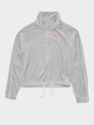 Nike NSW Retro Track Top in Grey