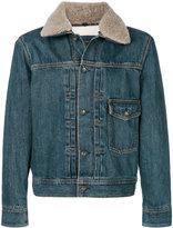 Rag & Bone shearling collar denim jacket