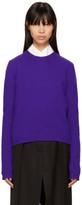 Acne Studios Purple Wool Siw Sweater