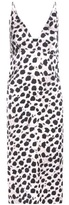 Calvin Klein Collection Jellen Printed Silk Dress
