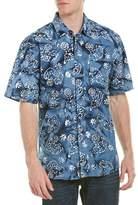 Vintage 1946 Batik Woven Shirt.