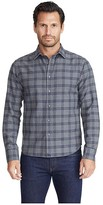 Untuckit UNTUCKit Heavyweight Flannel Lucca Shirt (Grey) Men's Clothing
