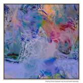 United Artworks Many Whispers Canvas Print With Floating Frame