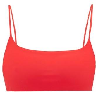 JADE SWIM Muse Scoop-neck Bikini Top - Womens - Red