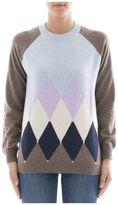 Ballantyne Brown Cachemire Sweatshirt