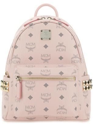 MCM Stark Zipped Backpack