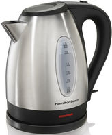Hamilton Beach 1.7-Liter Stainless Steel Electric Kettle