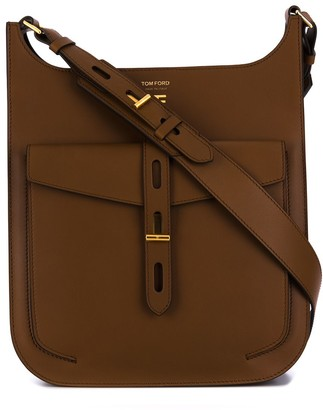 Tom Ford leather cross-body bag