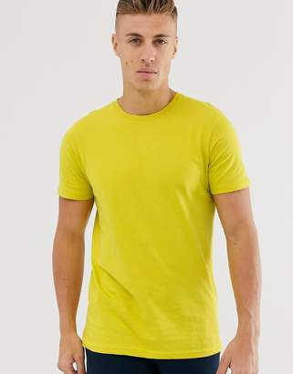 Cotton On Cotton:On essential crew neck t-shirt-Yellow