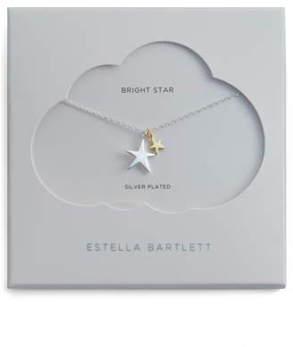 Estella Bartlett Lotus Leaf Pendant Necklace