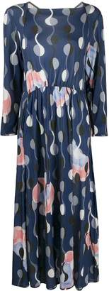 Henrik Vibskov floral abstract print No.4 jersey dress