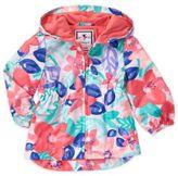 Gymboree Watercolor Floral Print Hooded Jacket