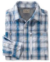 L.L. Bean Cool Weave Shirt, Plaid