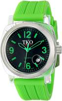 TKO ORLOGI Women's TK549-GGR Unisex Milano Remixed Green Watch
