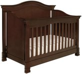 Million Dollar Baby Classic Louis 4-in-1 Convertible Crib with Toddler Bed Conversion Kit- Espresso