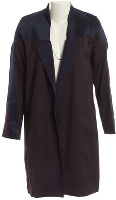 Anne Valerie Hash Burgundy Wool Jackets