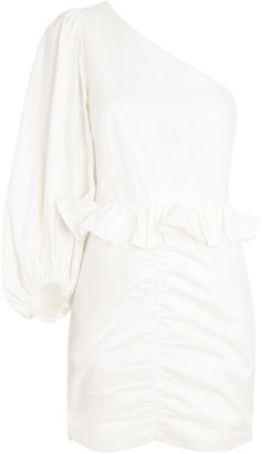 Shona Joy Grant One-Shoulder Mini Dress