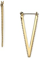 Rebecca Minkoff V Hoop Earrings