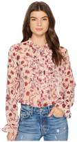 For Love & Lemons Agnes Button Up Blouse Women's Blouse