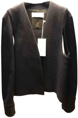 Chalayan Navy Wool Jacket for Women
