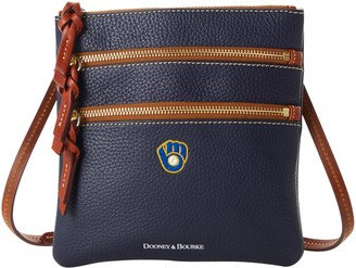 Dooney & Bourke MLB Brewers N S Triple Zip Crossbody