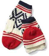 Gap Alpine fair isle convertible mittens