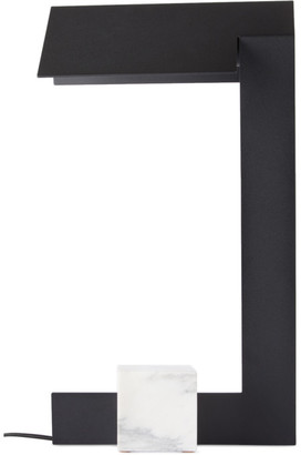 Lambert and Fils Black Clark Table Lamp, CA/US