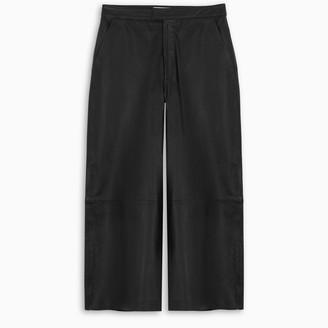 REMAIN Birger Christensen Black leather pants