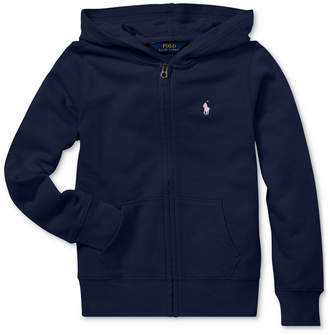 Polo Ralph Lauren Toddler Girls French Terry Hoodie