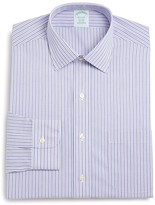 Brooks Brothers Non-Iron Stripe Regular Fit Dress Shirt