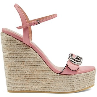 Gucci Women's Espadrille Sandals with Double G