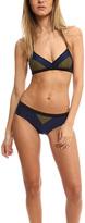 VPL Deltoid Navy Bikini Top