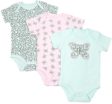 Cutie Pie Baby Light Pink & Aqua Bodysuit Set - Infant