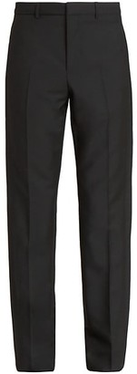 Givenchy Tuxedo Band Virgin Wool & Mohair Trousers