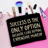 Elsie & Nell 'Success Is My Only Option' Makeup Bag
