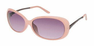 UNIONBAY U236 Eye-Catching Oval Sunglasses with 100% UV Protection