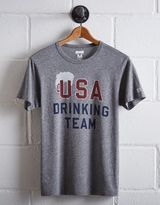 Tailgate Men's USA Drinking Team T-Shirt