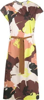 Alysi Floral Midi Dress