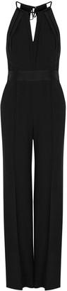 Diane von Furstenberg Ireland Black Wide-leg Jumpsuit