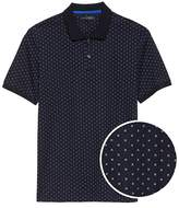 Luxury-Touch Printed Polo