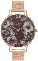 Olivia Burton **Poppy Brown Dial Watch