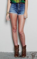 washborn High Waist Shorts