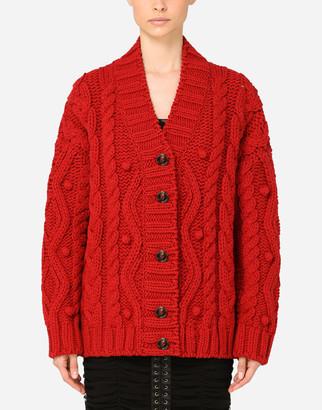 Dolce & Gabbana Virgin Wool Cardigan