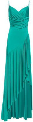 Alexandre Vauthier Gathered Draped Stretch-jersey Gown