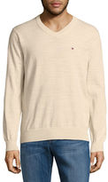 Tommy Hilfiger Classic Heathered V-Neck Sweater