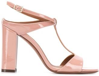 L'Autre Chose T-bar block heel sandals