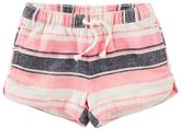 Osh Kosh Girls 4-8 Striped Linen-Blend Shorts